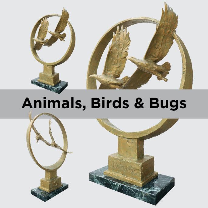 Animals, Birds & Bugs